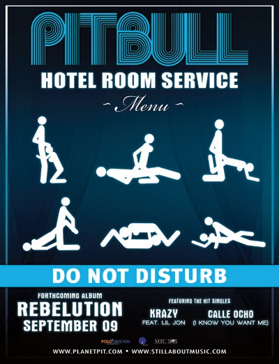 Pitbull Room Service Song Download