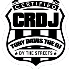 Tony Davis The DJ Logo