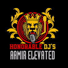 Aamir Elevated The Dj Logo