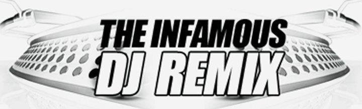 The Infamous DJ Remix Logo