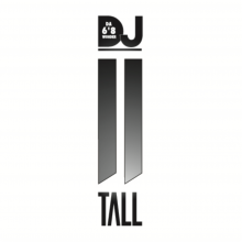 "DA 6'8""WONDER DJ 2TALL Logo"