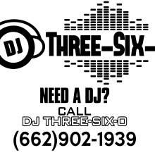 Dj-Three-Six-O Logo