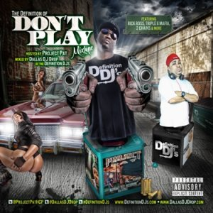 The Definition Of Don't Play ( http://bit.ly/nLZ972  ) Cover