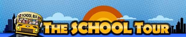 The School Tour Logo