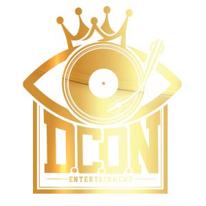D.C.O.N ENTERTAINMENT Logo