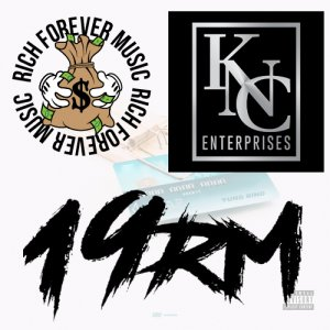 KNC Entertainment, 19RM, Rich Forever Music Logo