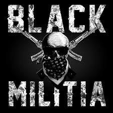 Black Militia Logo