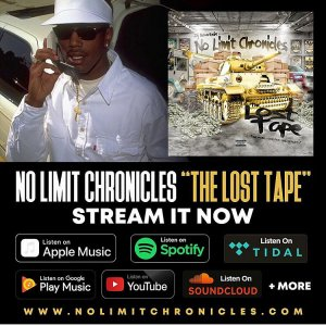 No Limit Chronicles Lost Tapes(July 29) Cover