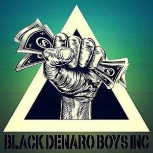 BLACK Denaro Boys Entertainment ® LLC Logo