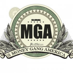M.G.A. (Money Gang America)/5PM (5 Points Music Group) Logo