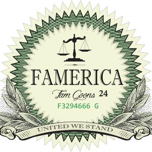FAMERICA Ent. Logo