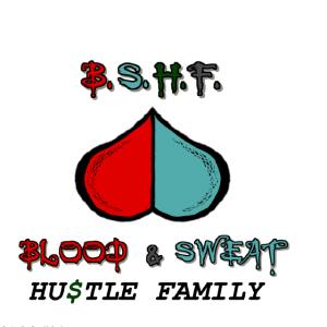 Blood n Sweat Hustle Family (BSHF) Logo