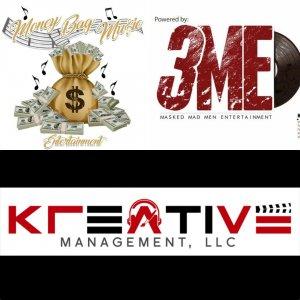 Money Bag Music Entertainment / Masked Mad Men Entertainment LLC Logo