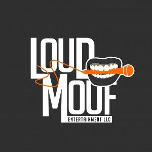 Doe Gurl Ent   Loud Mouf Ent Logo