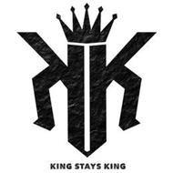 King Stays King Logo