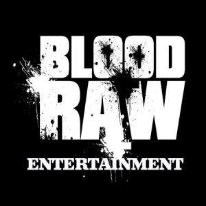 H.U.S.H / BLOODRAW ENTERTAINMENT Logo