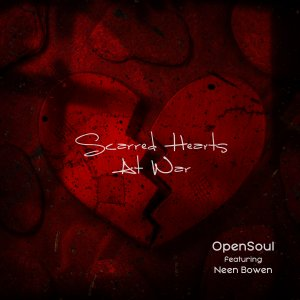 Scarred Hearts at War Cover