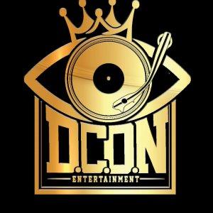 DCON ENTERTAINMENT Logo