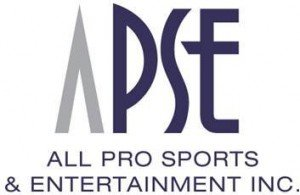 All Pro Sports and Entertainment Logo