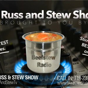 RussNStew Tv/Hell Gate Entertainment Logo