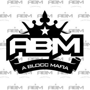 ABMG  (All Black Money Gang) Logo