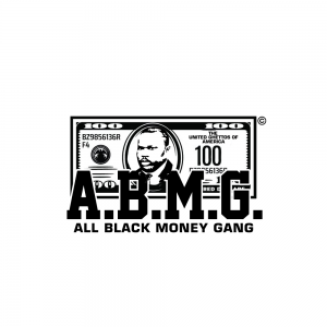 ABMG  (All Black Money Gang) Logo