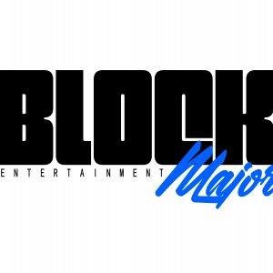 BLOCK MAJOR ENTERTAINMENT Logo