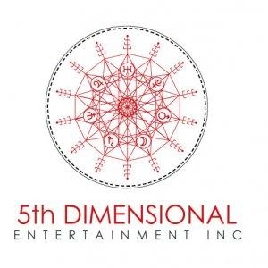 5th Dimensional Entertainment Logo