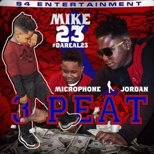 Microphone Jordan 3Peat Cover